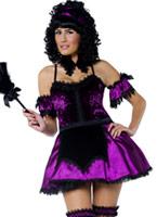 Costume de femme de ménage de manoir gothique Halloween Costume Femme