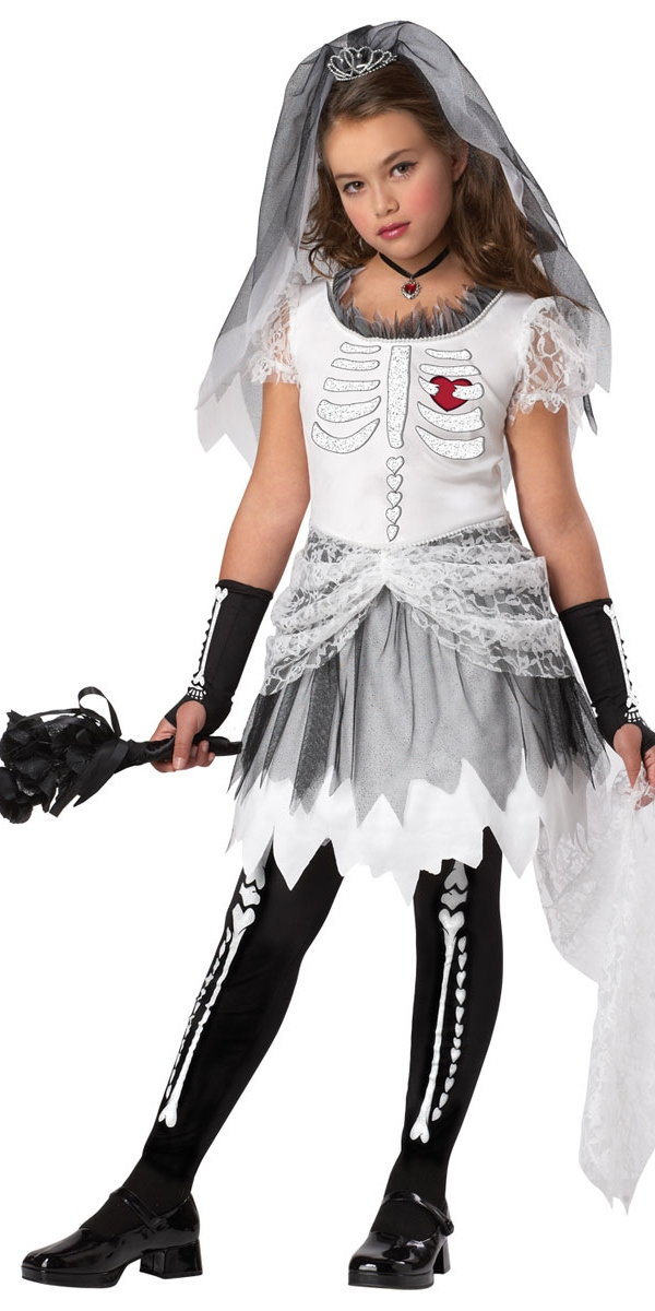 Costume mari e skela halloween costume fille costume halloween 06 07 2018 - Deguisement fille halloween ...