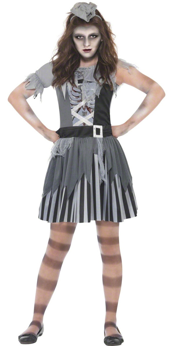 Halloween Costume Fille Ghost Ship Pirate Girl Costume