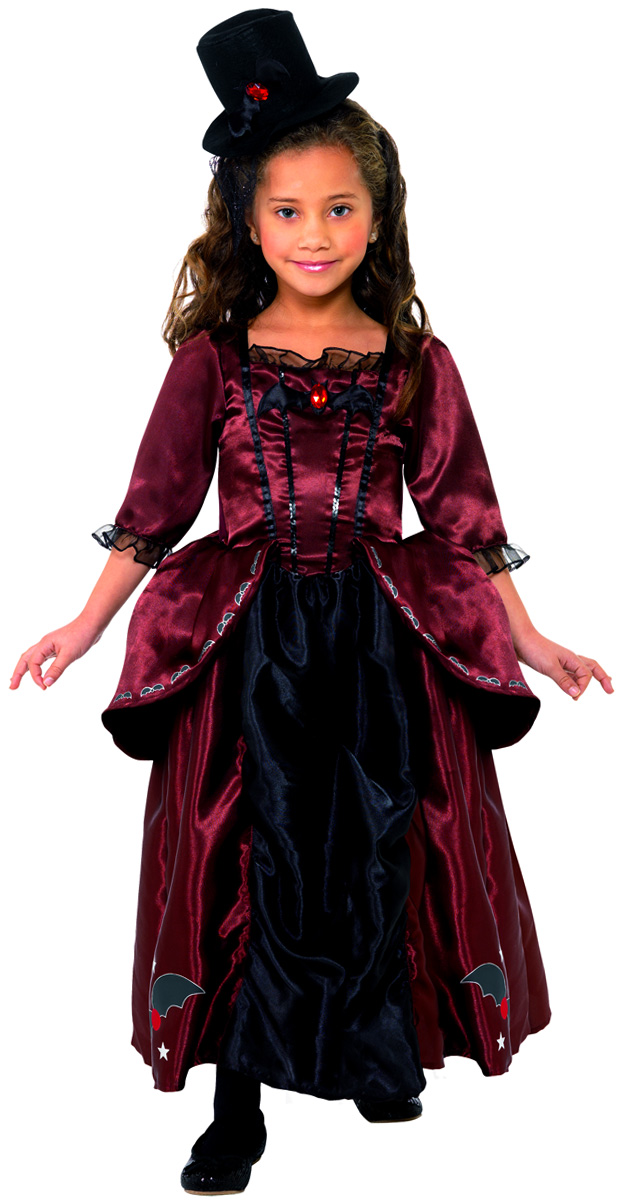 Costume de vampire rouge pour enfants halloween costume fille costume halloween 07 07 2018 - Deguisement halloween fille vampire ...