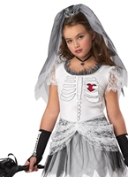 Costume mariée Skela Halloween Costume Fille