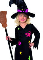 Cinder Costume de sorcière pour enfants Halloween Costume Fille