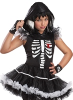Costume de Childrens Skela-Rina Halloween Costume Fille