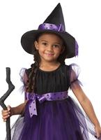 Costume de sorcière de charme pour enfants Halloween Costume Fille