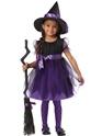 Halloween Costume Fille Costume de sorcière de charme pour enfants
