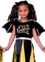 Pom-Pom Girl Costume de chauve-souris pour enfants Halloween Costume Fille