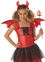 Diable ch�ri Childrens Costume Halloween Costume Fille