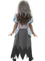 Halloween Costume Fille Costume de mariée gothique pour enfants