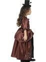 Halloween Costume Fille Costume de vampire rouge pour enfants