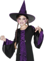Costume de Childrens Purple ensorcelé Halloween Costume Fille