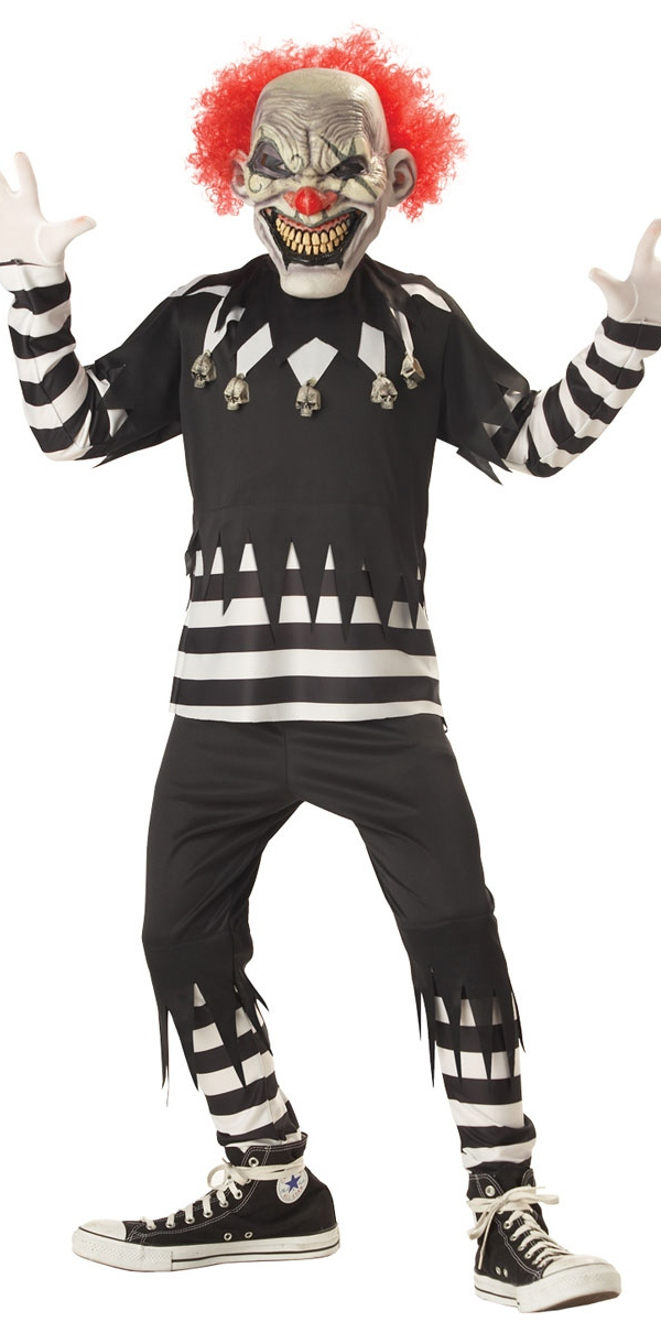 costume de clown effrayant pour enfants halloween costume. Black Bedroom Furniture Sets. Home Design Ideas