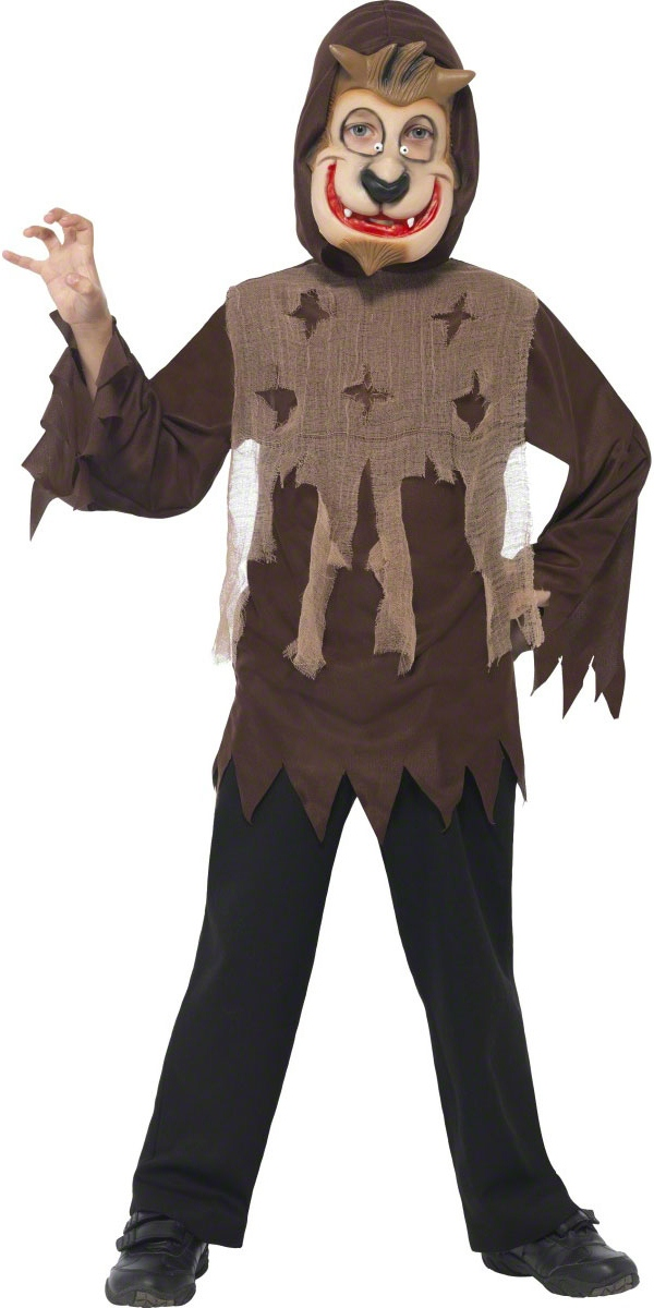 Halloween Costume Garçon Childrens Wolf Monster Kit instantanée