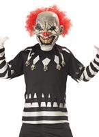 Costume de Clown effrayant pour enfants Halloween Costume Garçon