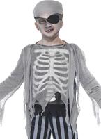 Costume de garçon de navire fantôme Halloween Costume Garçon