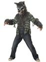 Halloween Costume Garçon Hurlant à la lune pour enfants Costume