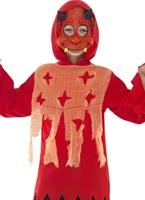 Childrens Devil Kit instantanée Halloween Costume Garçon