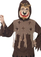 Childrens Wolf Monster Kit instantanée Halloween Costume Garçon
