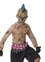 Zombie Skate Punk Childrens Costume Halloween Costume Garçon
