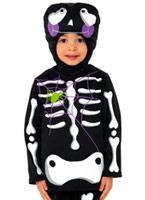 Childrens squelette mignon Costume Halloween Costume Garçon