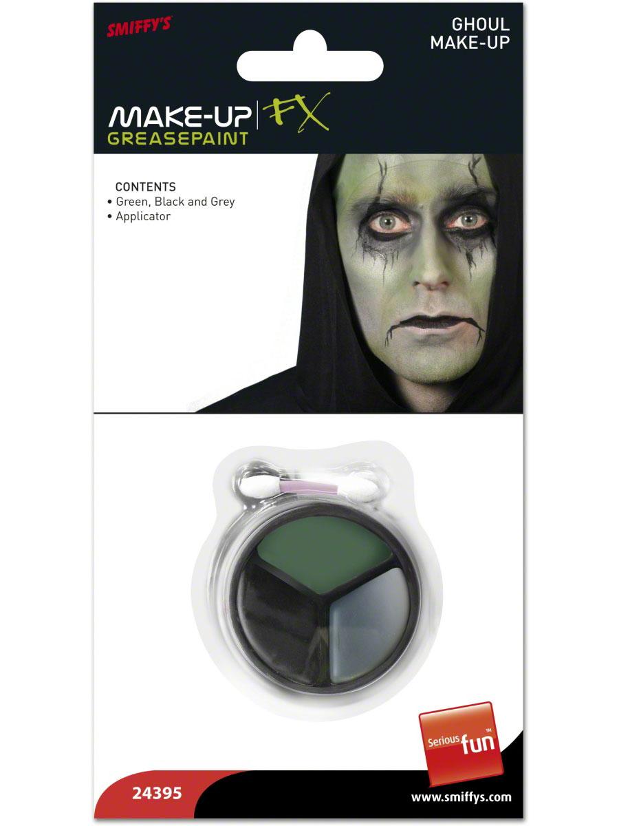 Halloween Maquillage Goule maquillage Set noir gris vert