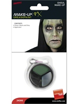 Goule maquillage Set noir gris vert Halloween Maquillage
