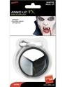 Halloween Maquillage Maquillage Vampire mis noir blanc gris