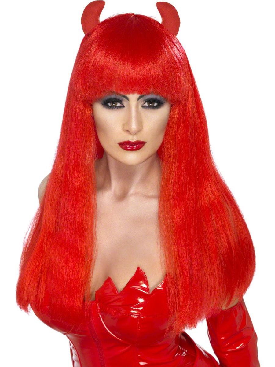 Halloween Perruque Perruque Devilette