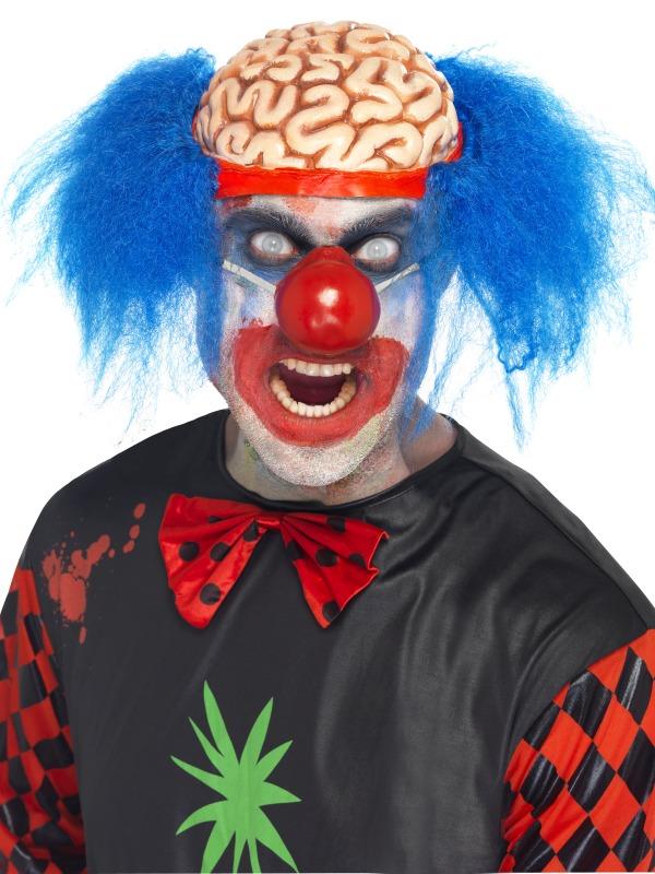 Halloween Perruque Perruque de Clown scalpé