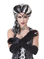 Perruque victorienne Halloween Perruque