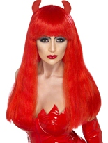Perruque Devilette Halloween Perruque