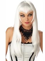 Perruque Vampire blanc Halloween Perruque
