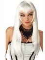Halloween Perruque Perruque Vampire blanc