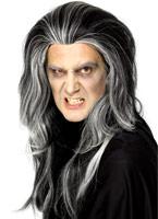 Perruque Vampire gothique Halloween Perruque