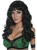Perruque Devilicious noir Halloween Perruque