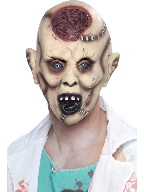 Masque Halloween Autopsie Zombie masque uniquement