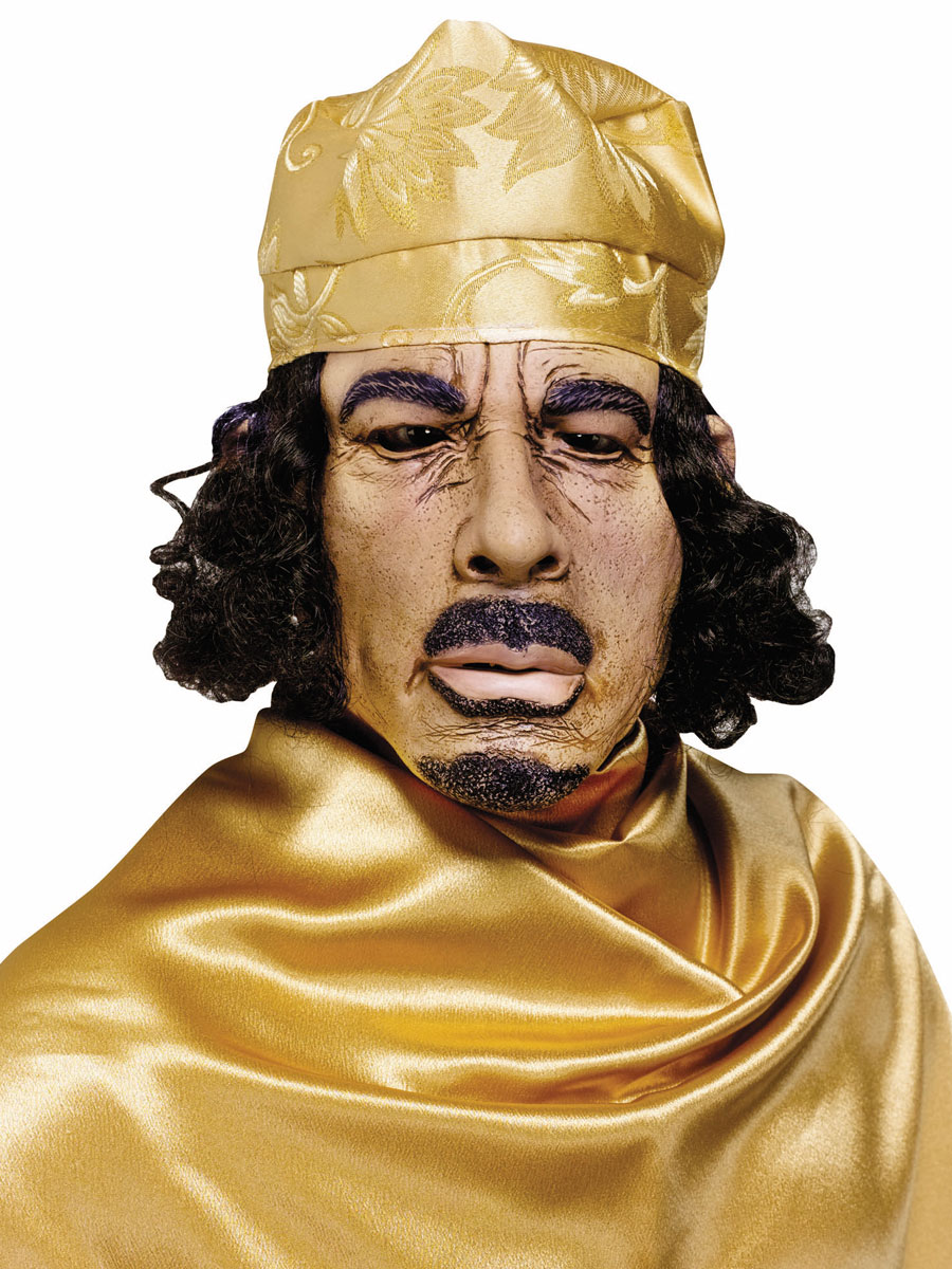 Masque Halloween Masque de Kadhafi Daffy
