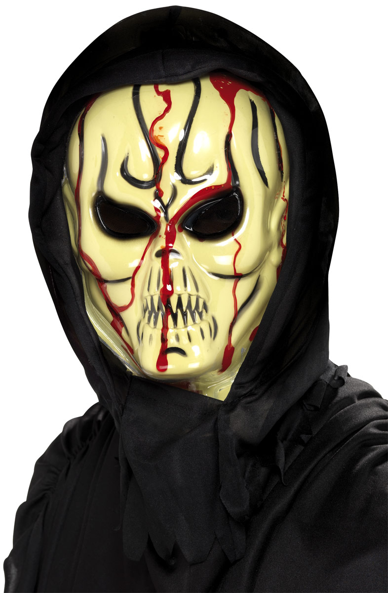 Masque Halloween Masque Alien saignement