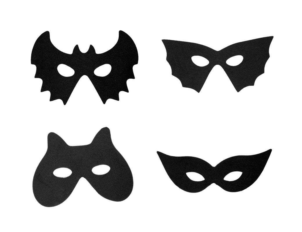 маски на хэллоуин своими руками фото