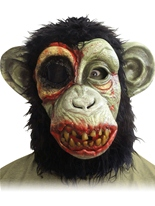 Masque de chimpanzé Zombie Masque Halloween