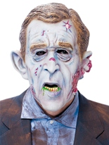 Masque ' Zombie ', W. Bush de la morgue Masque Halloween