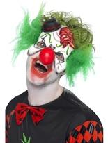 Couper la gorge Clown masque uniquement Masque Halloween