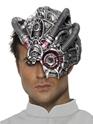 Masque Halloween Demi masque robot