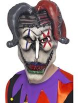 Masque de bouffon torsadée seulement Masque Halloween