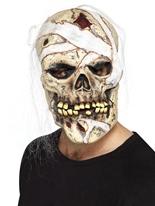 Masque de momie de crâne Masque Halloween