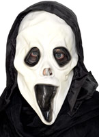 Screamer masque et capot en caoutchouc Masque Halloween
