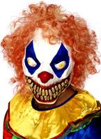 Masque de Clown grimaçant mal en caoutchouc Masque Halloween