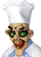 Chef fou grand masque visage de 3/4 Masque Halloween