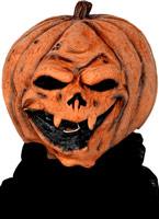 Citrouille généraux effrayant masque en caoutchouc Orange Masque Halloween