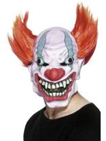 Mal de trois quarts à la recherche de Clown masque en caoutchouc Masque Halloween