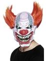 Masque Halloween Mal de trois quarts à la recherche de Clown masque en caoutchouc